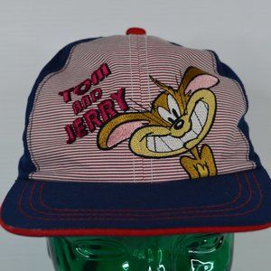 Tom and Jerry Licensed Blue Kids Hat